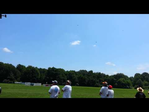Warbirds over Delaware 2015 24 pilots fly at once