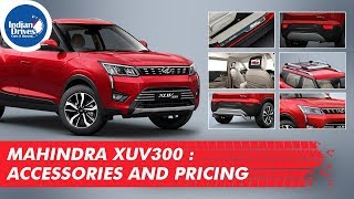Mahindra XUV300 Accessories With Price Details