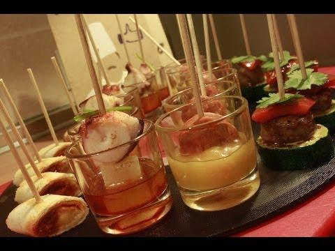 V deos de recetas de canapes for Canapes faciles y rapidos frios