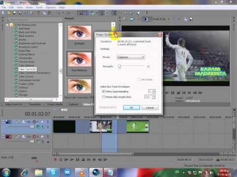 درس كيف استخدام برنامج sony Vegas Pro 11