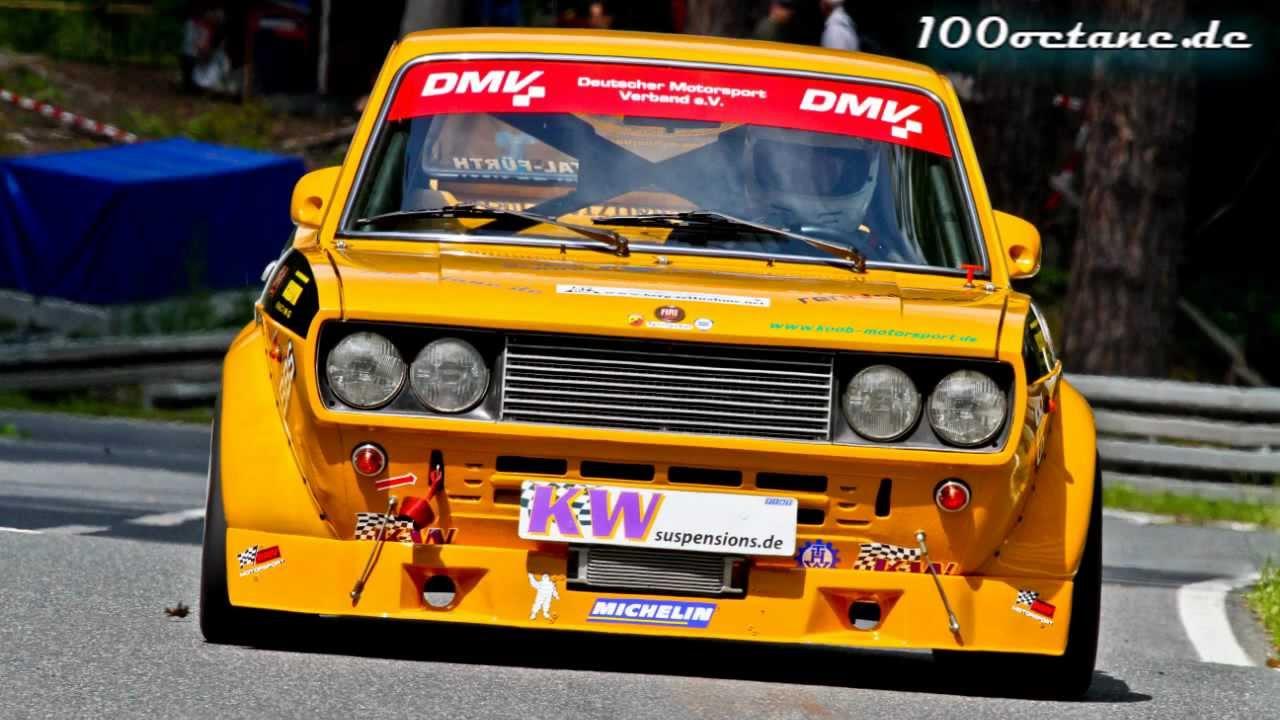 Fiat 128 Coup 233 8v Rolf Rauch 17 Ibergrennen 2012
