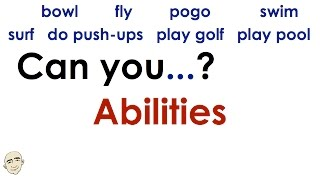Can you...? | Abilities | Easy English Conversation Practice | ESL.