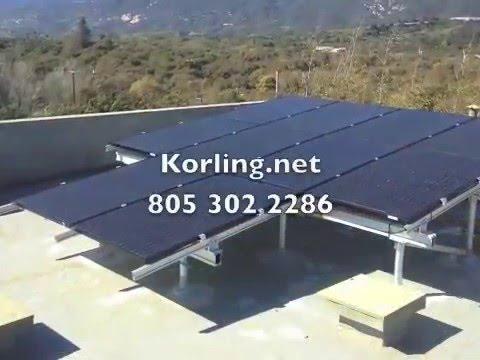 40 solar panel install Santa Barbara