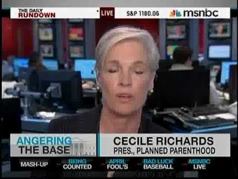 Cecile Richards Mammograms Under Cecile Richards Planned