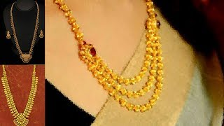 Kolkata Gold Haram Collection : Absolutely Beautiful Pictures