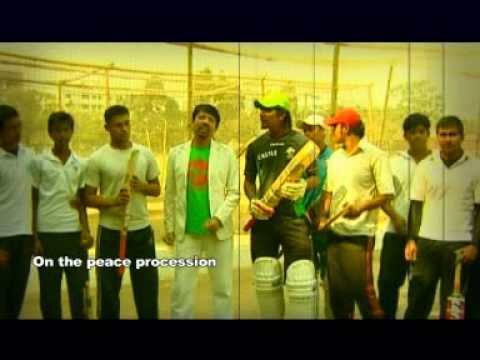 ICC World Cup Cricket Song  2011 New Theme Bangla song..Bangladesh...