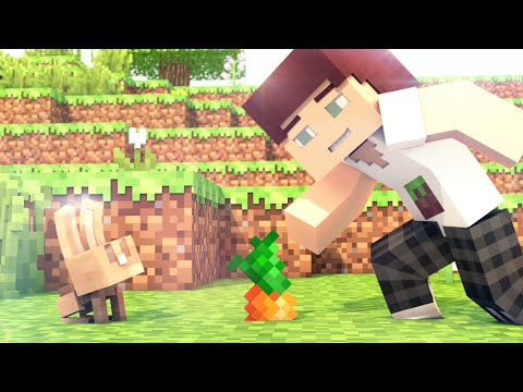 Video Blowing Chunks (Minecraft Animation) (40S)