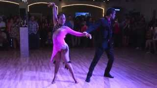 Alien Ramirez & Christian Sola at Salsa Heat Social 8/26/14