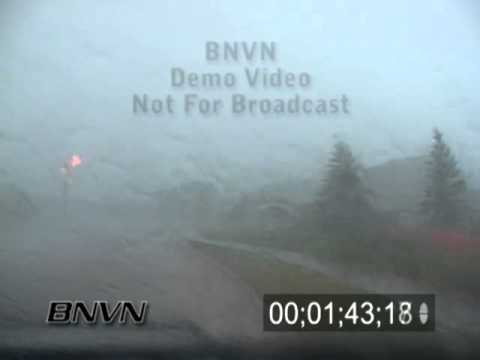 6/20/2005 Severe storm video of high winds and flooding