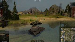 World of Tanks - Рудники - VK4502(B) HD 1080p