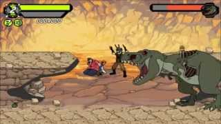 Бен Тен погоня в джунглях игра Ben 10 savage pursuit game