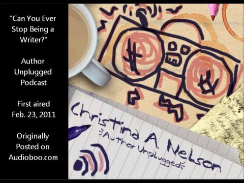 VEDA 2013 - Day #18: Can You Ever Stop Being a Writer? (Podcast)