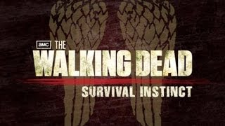 The Walking Dead Survival Instinct - Primeira Jogatina - GTX 560TI