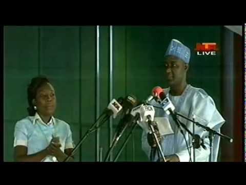 Nigeria decides 2015 : PDP Member Orubebe Attacks JEGA at INEC     National collation centre Abuja.