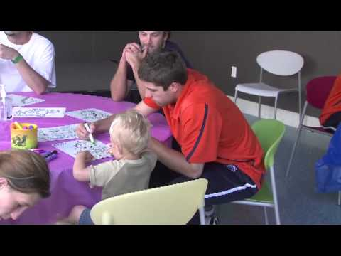 Auburn Baseball visits the Children's Hospital of Alabama in Birmingham
