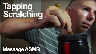 ASMR Tapping & Scratching Sounds - Thermojet container