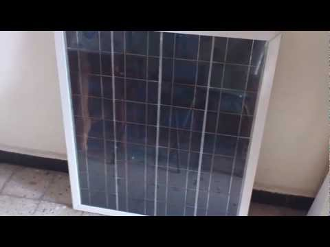 Nacer Gnie Durable - Fabrication Artisanale d'un panneau solaire en Algerie - Part 5