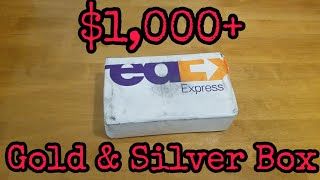 Unboxing - $1k+ Gold and Silver Box from SD Bullion