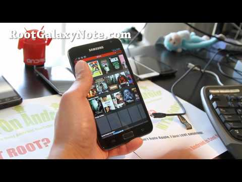 Paranoid Android ICS ROM for Galaxy Note GT-N7000! [Best Tablet Mode ROM]