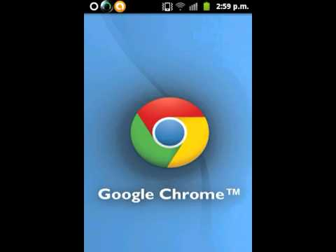Google Chrome en Galaxy Ace GT-S5830M