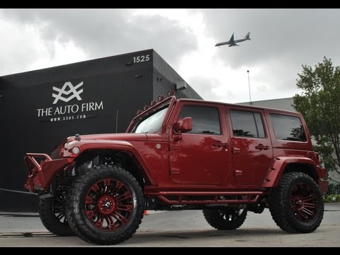 2013 Avorza Jeep Wrangler Red Edition - The Auto Firm by Alex Vega