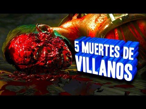 Las 5 MUERTES de Villanos MÁS SATISFACTORIAS! (ZEPfilms)