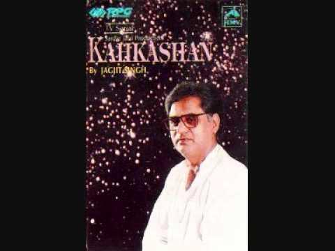 Majaz Lakhnawi - Jagjit Singh Humdum Yahi Hai (title Song Kahkashan).wmv video