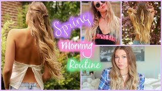 Get Ready With Me // Spring Morning Routine