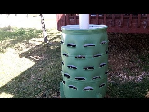 Around the Home: #2 Making a Garden Barrel