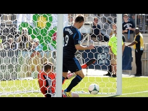 GOAL: Johnson's header puts Seattle ahead | Philadelphia Union vs. Seattle Sounders