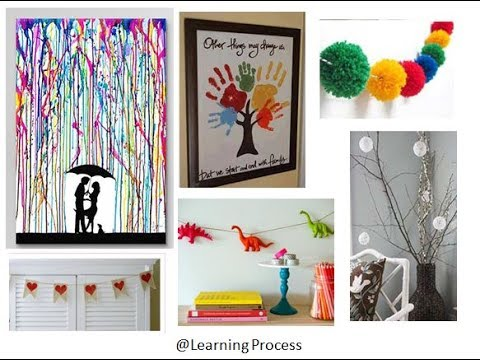 30 cool and amazing craft ideas for Home decor you must try | Learning Process