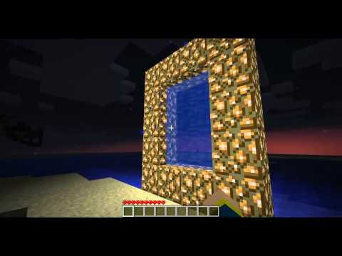Minecraft Aether MOD lets play ep 1
