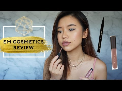 Em Cosmetics Review   Chatty Get Ready With Me