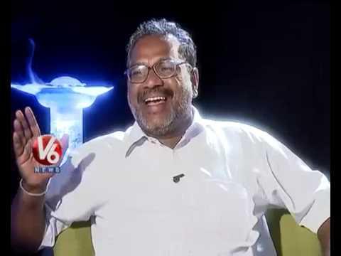 Kathi Karthika With Telangana Folk Singer Goreti Venkanna - V6 Exclusive Interview
