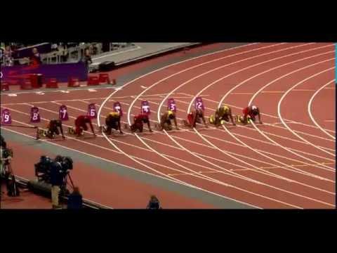 Usain Bolt 2012 Olympics 100 Meters Final