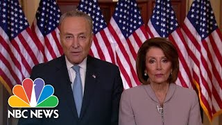 Watch Democrats Respond To President Donald Trump's Immigration Speech | NBC News