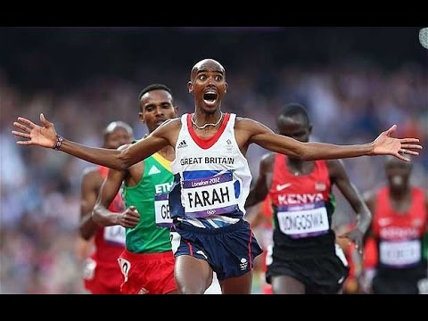 MO FARAH: BEST MOMENTS!!