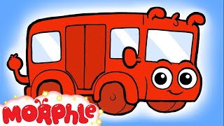 ♪ The wheels on the Bus go round and round Song ♪ nursery rhyme  - Morphle