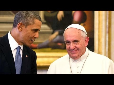 The Beast : False Prophet Pope Francis coming to Washington to meet the Beast (Mar 29, 2015)