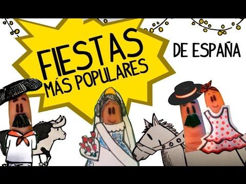 Un Paseo Por Las Fiestas Más Famosas De España