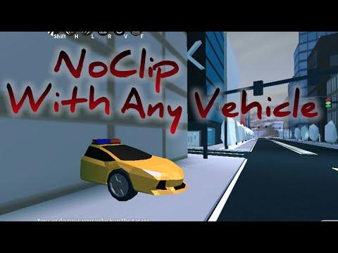 ✔WORKING✔||How to Vehicle NOCLIP! in JailBreak||ROBLOX HACK #1