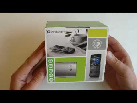 Sony Ericsson Aspen (M1i) unboxing