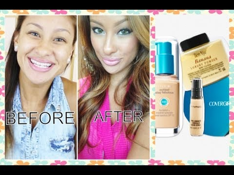 Flawless Face Foundation Routine