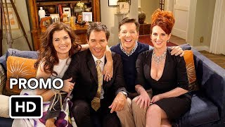 "Will & Grace (NBC) ""Back Together Again"" Promo HD"