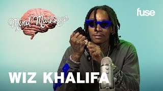 Wiz Khalifa Does ASMR & Talks Rolling Papers 2 | Mind Massage