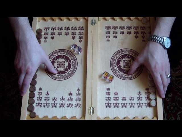 Как сделать самому нарды