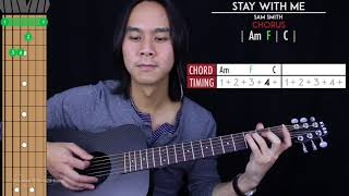 Stay With Me Guitar Cover Acoustic - Sam Smith 🎸 |Tabs + Chords|