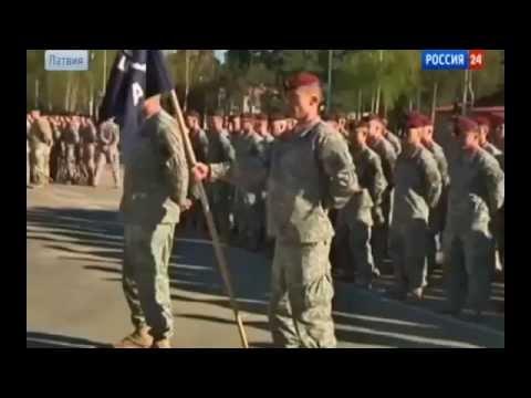 Последние новости .  Латвия жалуется , что солдаты НАТО  - свиньи !