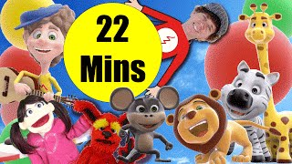 3D Rhymes Bingo And More | 22 Minutes of Songs Dream English Kids | Learn English Fun