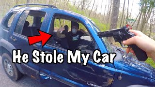 Thieves Try Stealing My Car